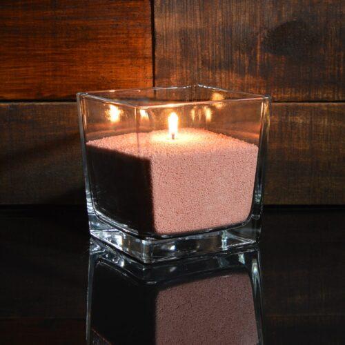 Красные (восточные) насыпные свечи 1 кг + 1 м фитиля