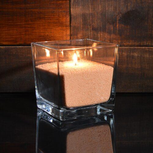 Оранжевые насыпные свечи 1 кг + 1 м фитиля