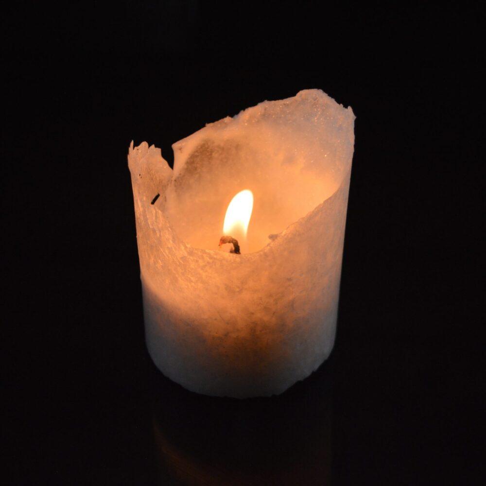Свеча из пальмового воска