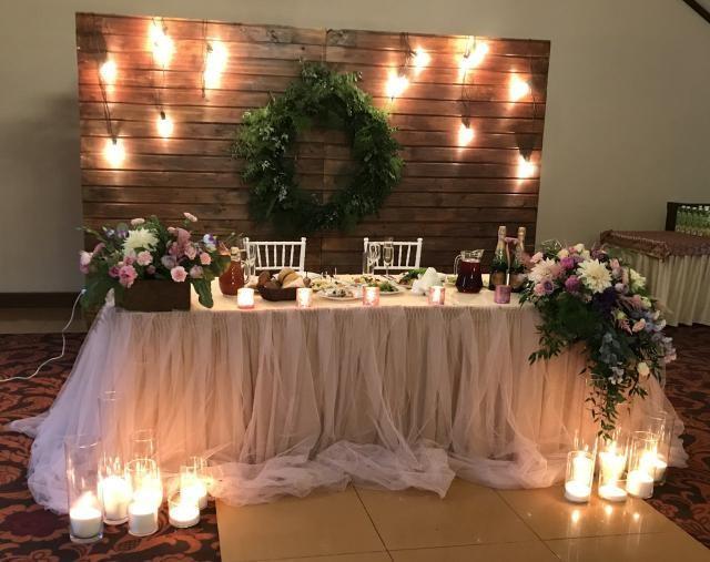 Насипні свічки - найкращий декор на весіллі