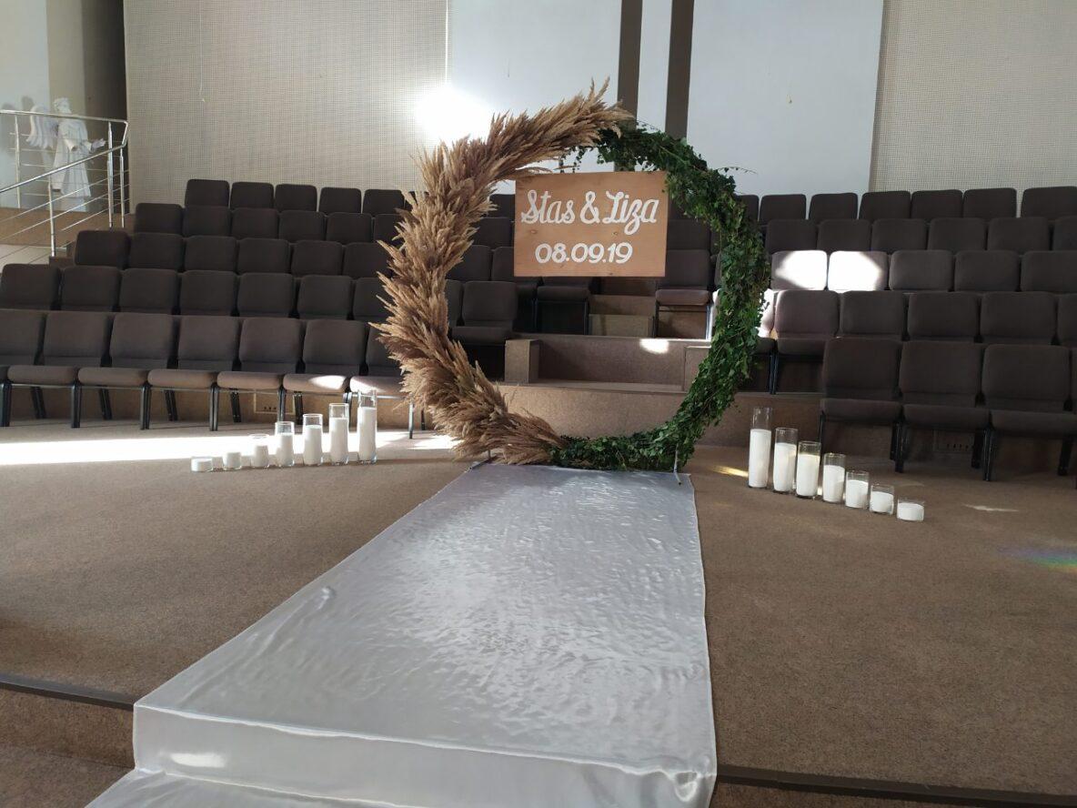 Аренда насыпных свечей в церкви Евангельских Христиан Баптистов