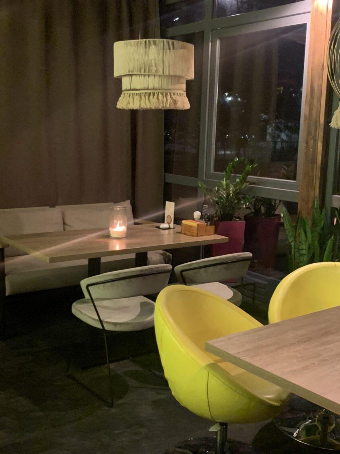 Насыпные свечи в ресторанах Киев