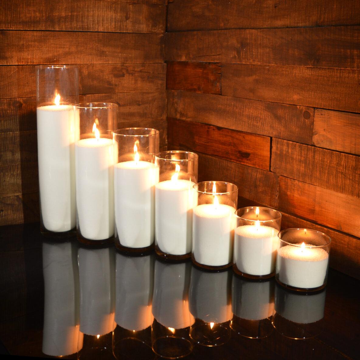 Насыпные свечи комплект №1 (7 свечей 10 - 47 см)