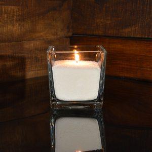 Насыпная свеча 10*10*10 см