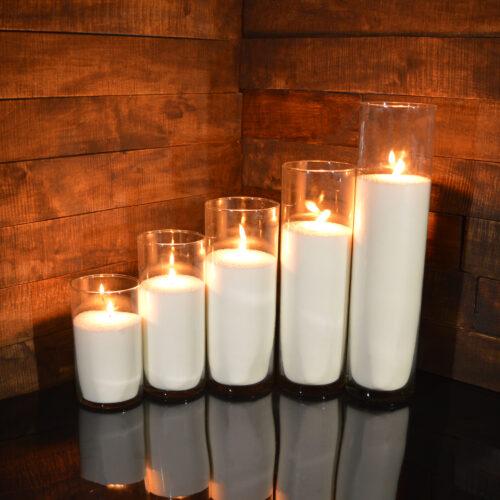 Насыпные свечи комплект №2 (5 свечей 20 - 47 см)