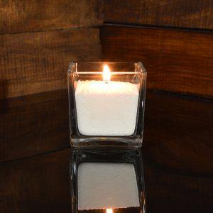 Насыпная свеча 8*8*8 см.