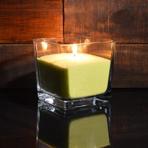 Ярко-желтые насыпные свечи 1 кг + 1 м фитиля