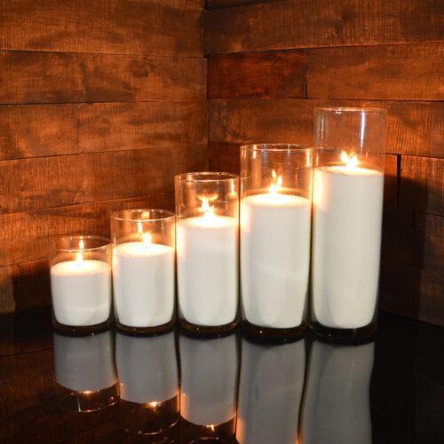 Насыпные свечи комплект №3 (5 свечей 15 - 38 см)