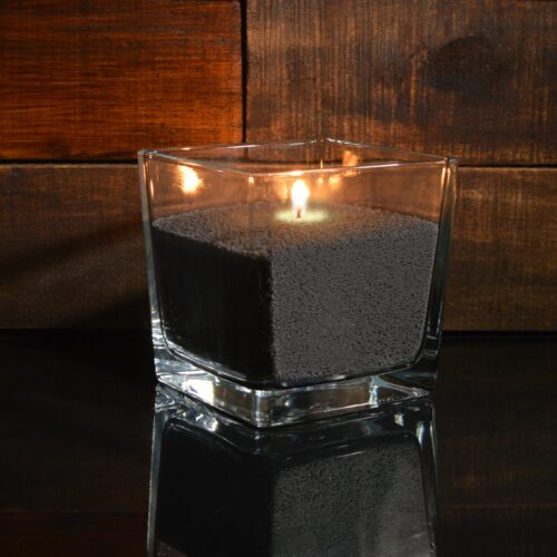 Черные насыпные свечи 1 кг + 2 м фитиля