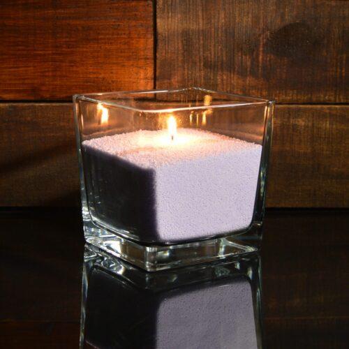 Фиолетовые насыпные свечи 1 кг + 1 м фитиля