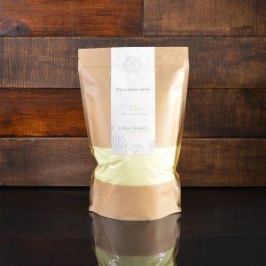 Лимонные насыпные свечи в фирменной упаковке 800 грамм