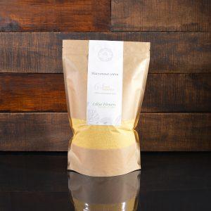 Желтые насыпные свечи в фирменной упаковке 800 грамм