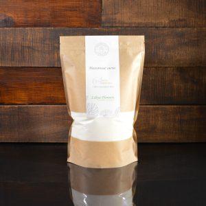 Белые насыпные свечи в фирменной упаковке 800 грамм