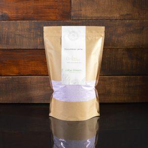 Фиолетовые насыпные свечи в фирменной упаковке 800 грамм