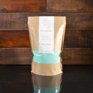 Изумрудные (зеленые) насыпные свечи в фирменной упаковке 800 грамм