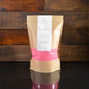 Малиновые насыпные свечи в фирменной упаковке 800 грамм