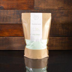 Бирюзовые насыпные свечи в фирменной упаковке 800 грамм
