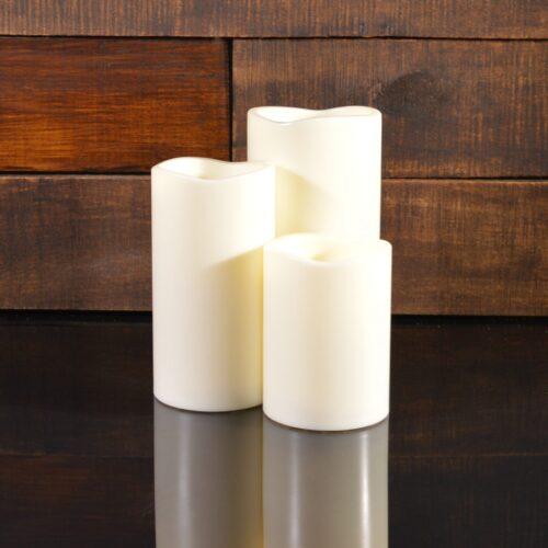Светодиодные свечи, комплект из 3-х штук